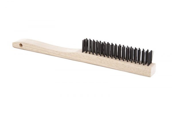 ATLASGRAHAM-Tempered Steel Wire Brush-4 Row