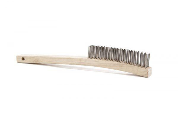 ATLASGRAHAM-Stainless Steel 4 Row Wire Brush