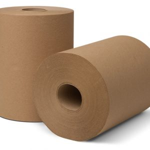 "8"" BROWN ROLL COMMODITY TOWEL"