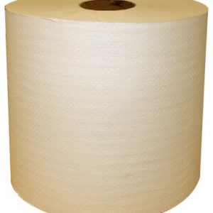 "(x)8"" NATURAL ROLL TOWEL 12X625 FT"