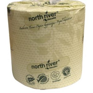 CASCADES - 4058 Standard Bathroom Tissue North River® 2 ply 500 sheets