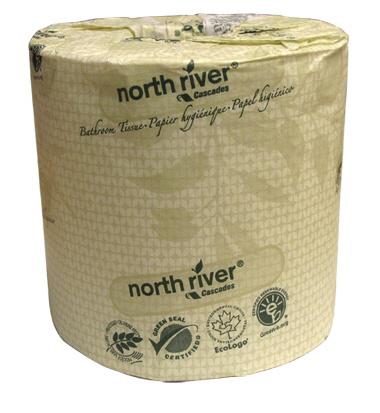 CASCADES - 4058 Standard Bathroom Tissue North River® 2 ply 500 sheets