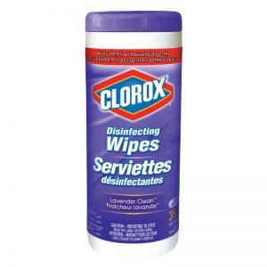 CLOROX-Disinfecting Wipes-Lavender
