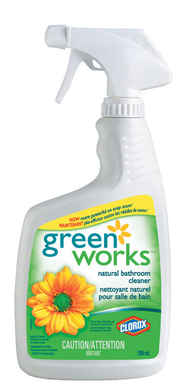 CLOROX-Green Works Bathroom Cleaner