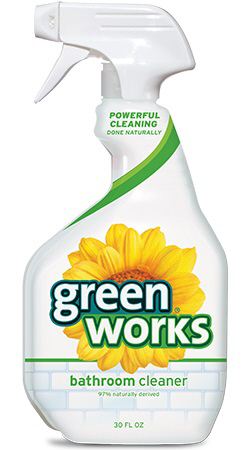 GREENWORKS BATHROOM CLEANER