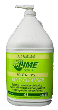 LIME ALL NATURAL SOLVENT HAND CLEAN