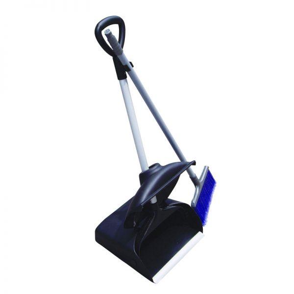 DURAPLUS-Upright Dustpan Lid+Broom