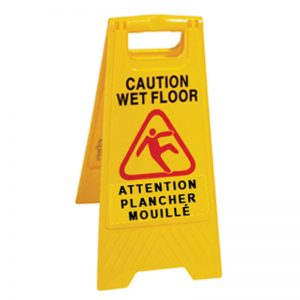 DURAPLUS-Wet Floor Sign-Caution Wet Floor Multilingual