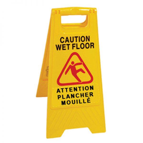 DURAPLUS-Wet Floor Sign-Caution Wet Floor Multilingual