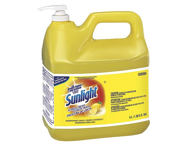 SUNLIGHT DISH SOAP 6L