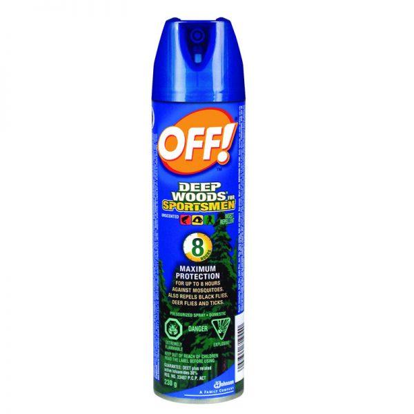 DURAPLUS-Off! Deep Woods Insect Repellent