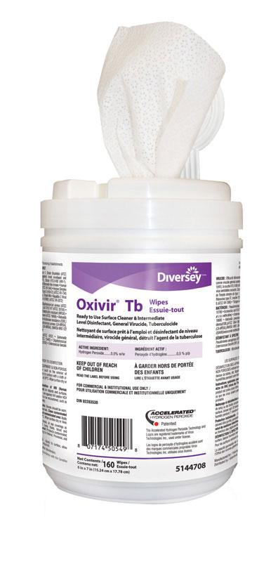DURAPLUS-Oxivir Tb Disinfecting Wipes