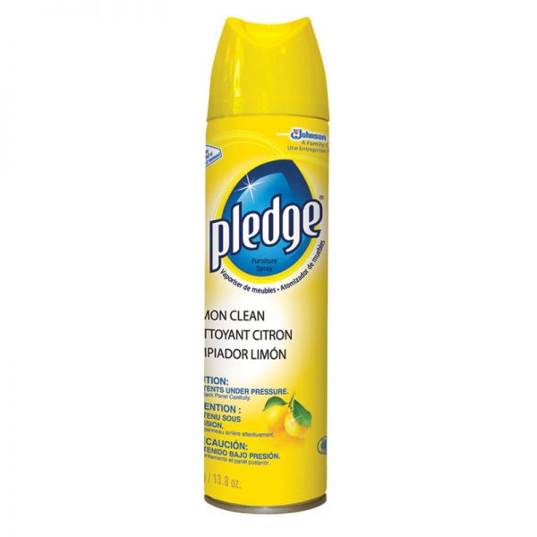 DIVERSEY-Pledge Furniture Spray-Lemon
