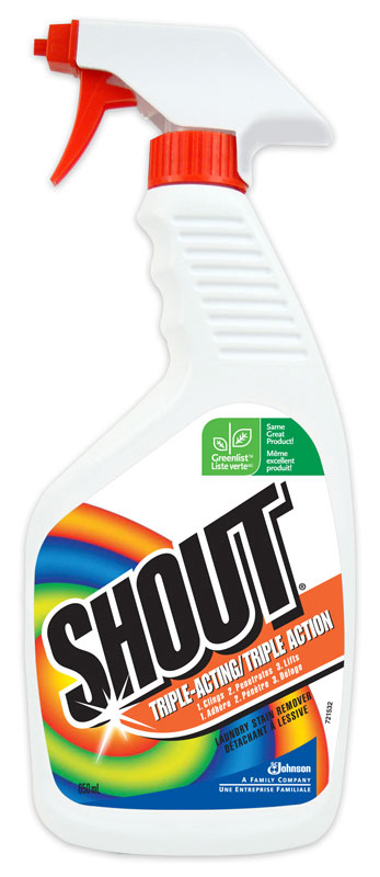 DIVERSEY-Shout-Triple Acting Laundry Stain Detergent
