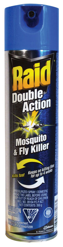 DURAPLUS-Raid Double Action Mosquito&Fly Killer
