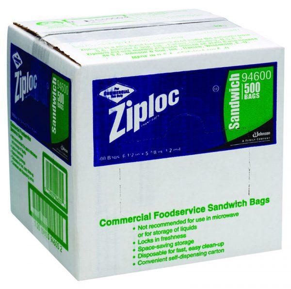 DIVERSEY-Ziplock Commercial Resealable Bags
