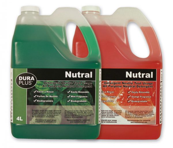 PEPPERMINT NEUTRAL GREEN CLEANER 4L