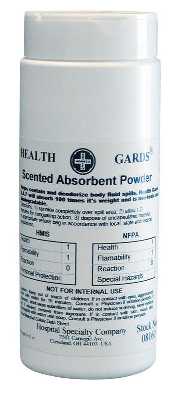 HOSPECO-Scented Absorbent Powder
