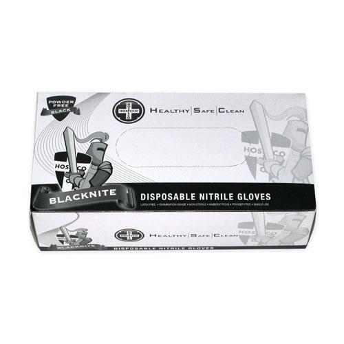 HOSPECO-Blacknite Disposable Powder Free Gloves