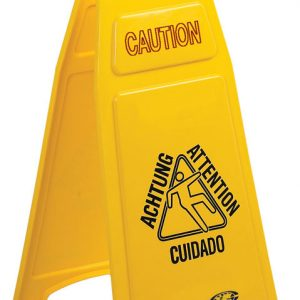 CONTINENTAL-Wet Floor Sign-Caution Wet Floor Multilingual