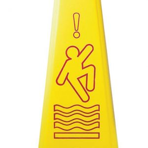 CONTINENTAL-Wet Floor Sign-Tri-Cone System