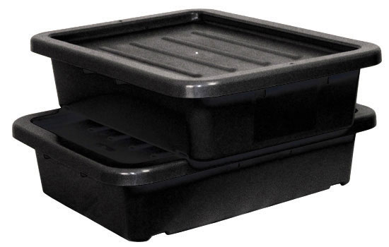 RUBBERMAID-Cross Stacking Bus Tubs