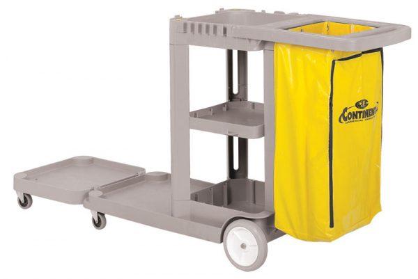 CONTINENTAL-Convertible Janitor Cart