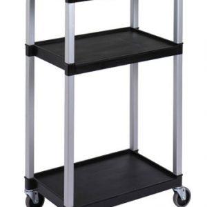 RUBBERMAID-3 Shelves Audio/Visual Cart