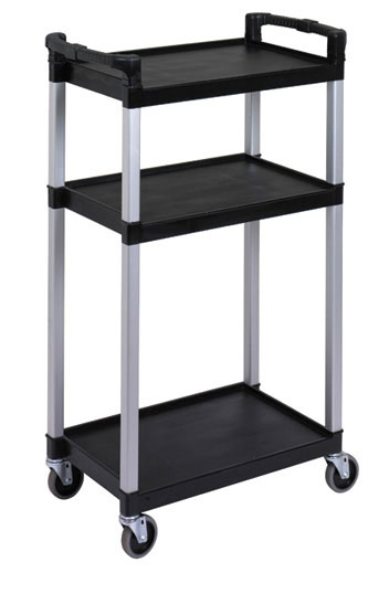 RUBBERMAID-3 Shelves Audio/Visual Cart
