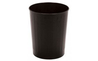 CONTINENTAL-Steel Line Wastebasket