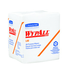 KC - 05600 WypAll* L40 Wipers WHITE