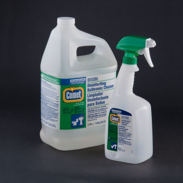 COMET BATHROOM CLEANER WITH BLEACH