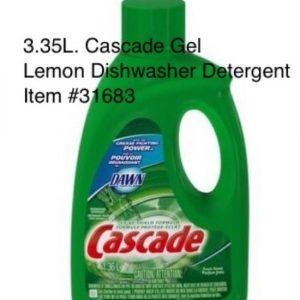 PROCTER&GAMBLE-Cascade with Dawn-Dishwashing Detergent (Bottle)