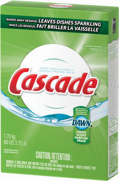PROCTER&GAMBLE-Cascade With Dawn-Dishwashing Detergent