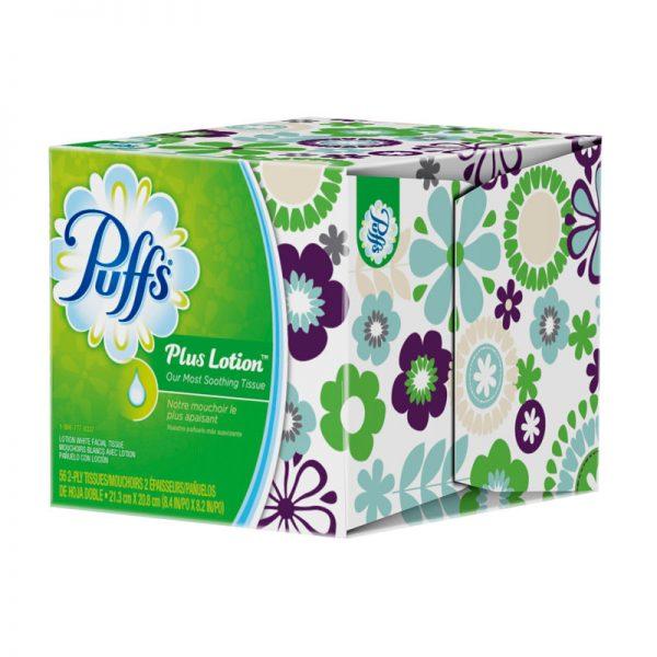 PROCTER&GAMBLE-Puffs Plus Lotion Facial Tissue