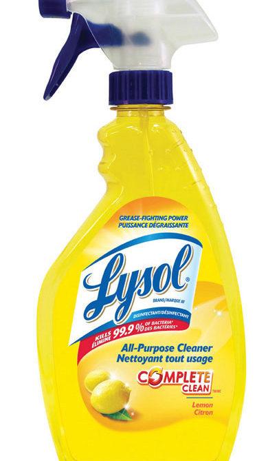 RECKITTBENCKISER-Lysol Lemon All-Purpose Cleaner