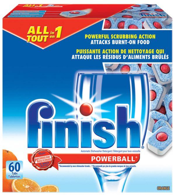 RECKITT&BENCKISER-Finish Powerball Detergent-Orange Scent