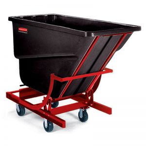 RUBBERMAID-Self-Dumping Hopper with Wheels