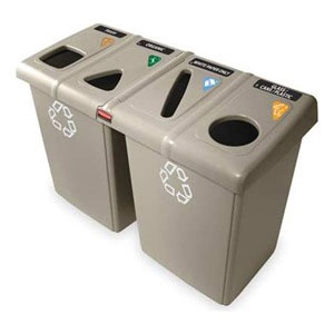 RUBBERMAID-Recycling Station