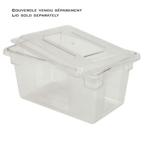 RUBBERMAID-Polycarbonate Food Box