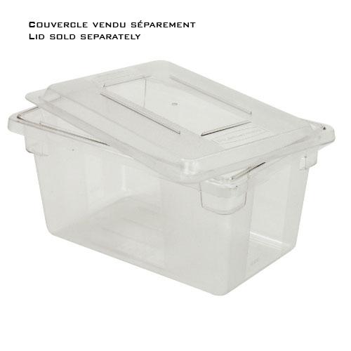 RUBBERMAID-Polycarbonate Food Box
