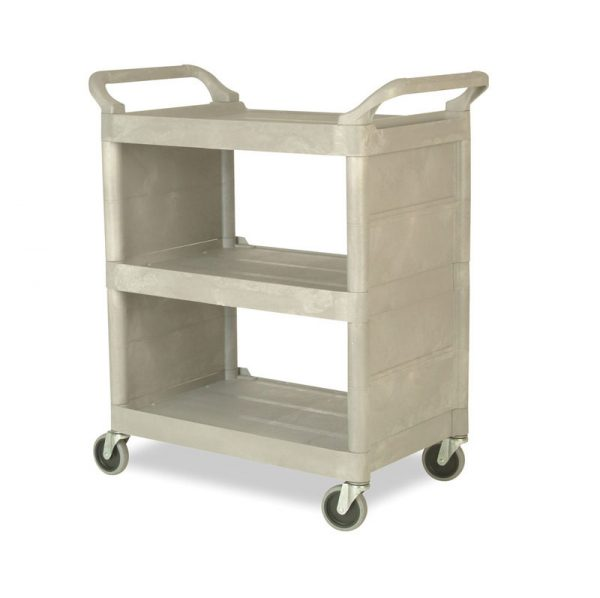 RUBBERMAID-Utility Cart with Enclosed End Panels