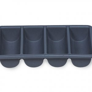 RUBBERMAID-4 Compartments Cutlery Bin