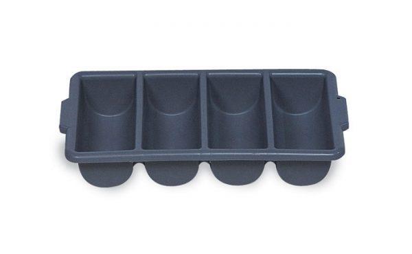 RUBBERMAID-4 Compartments Cutlery Bin