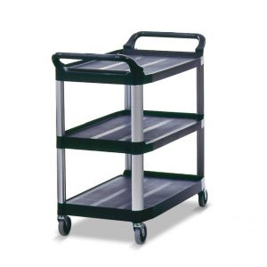RUBBERMAID-Xtra Utility Cart-Open Sided