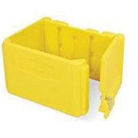 RUBBERMAID-Lockable Plastic Cabinet