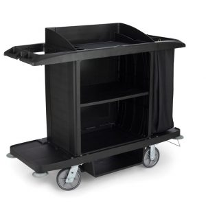 RUBBERMAID-Housekeeping Cart with Bag