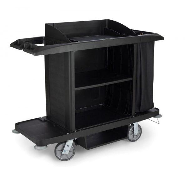 RUBBERMAID-Housekeeping Cart with Bag