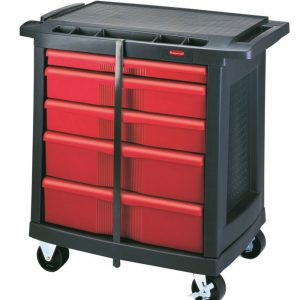 RUBBERMAID-5 Drawer Mobile Work Center
