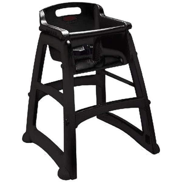 RUBBERMAID-Sturdy Chair Without Wheels Assembled